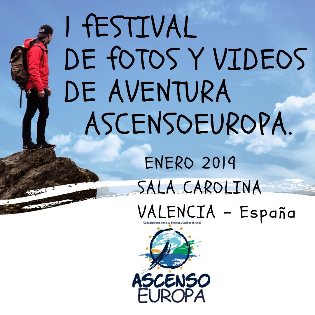 festival @ascensoeuropa 1edicion Valencia Espana